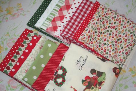 Christmasquiltfabric