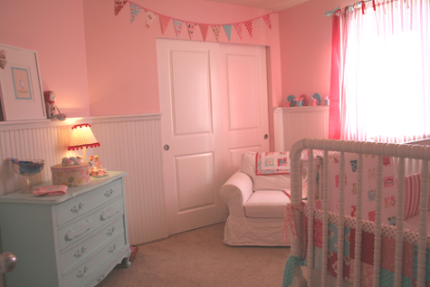 to tell you the honest truth: the nursery...