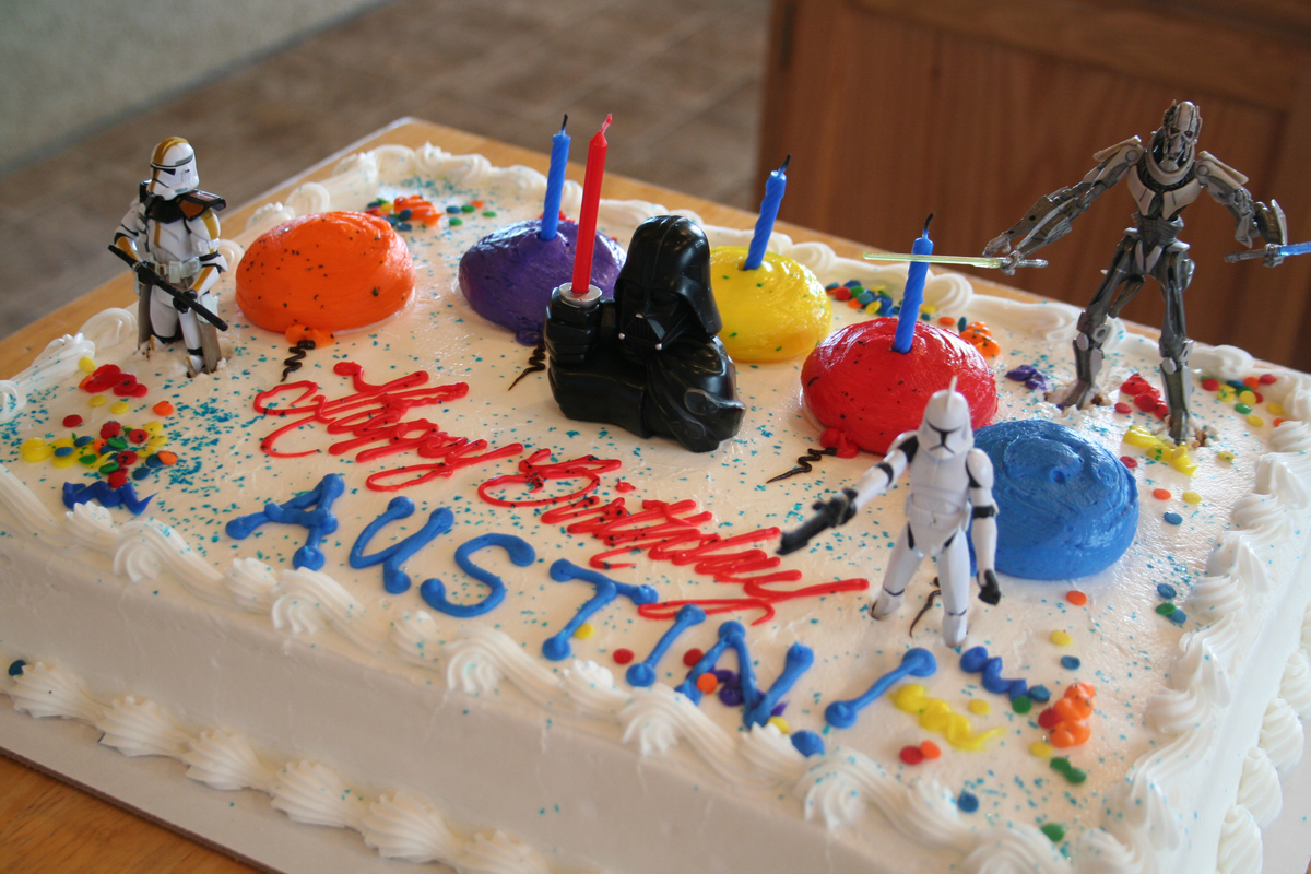 to tell you the honest truth i have my cake im 4 now