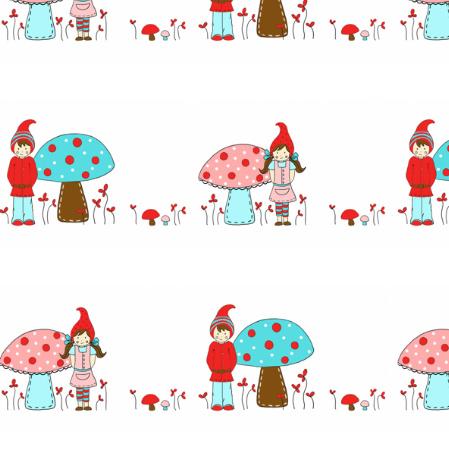 LittleGnomiesfabric_forEtsyRed1