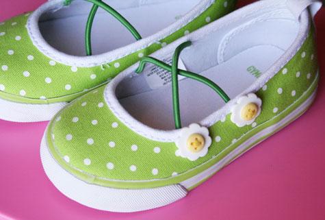 Greenpolkashoes