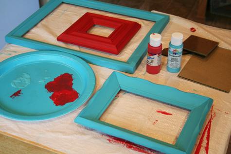 Paintedframes