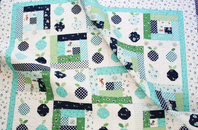 Blueberry Bliss My First Quilt Pattern Alittlesweetness